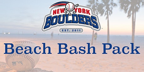 New York Boulders Beach Bash Pack tickets