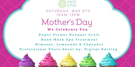Mother's Day Crafts, Mimosa's and Photoshoot tickets