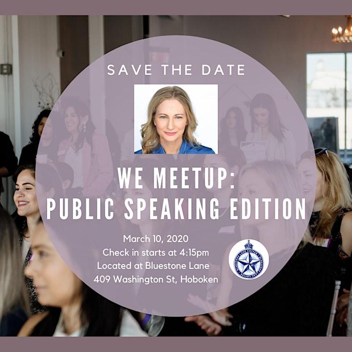 WE Meetup 3/10 image