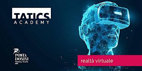 Realtà virtuale - workshop tickets