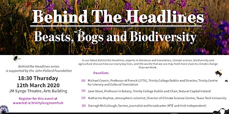 Behind the Headlines: Beasts, Bogs and Biodiversity tickets