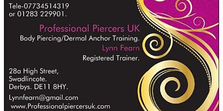 Body Piercing Training Course. tickets