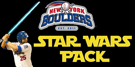 New York Boulders Star Wars Pack tickets