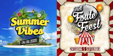 Feestweekend Clingehtslos - Summervibes & Het Foute Feest weekendtickets tickets