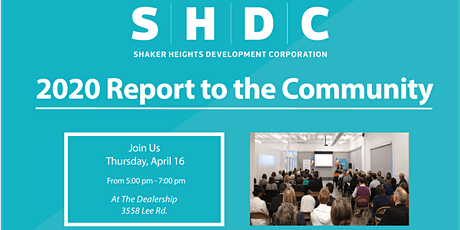 Shaker Heights Development Corporation 2020 Report to the Community tickets