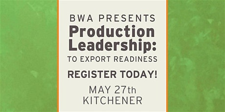 BWA Production Leadership Training Event tickets