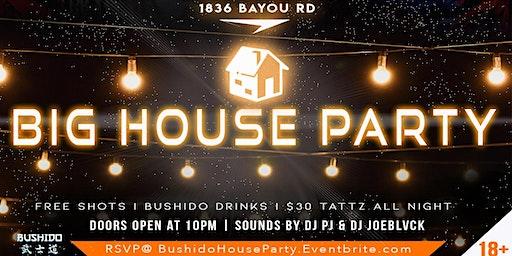 BUSHIDO'S BIG HOUSE PARTY