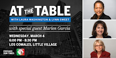 At the Table with Laura Washington and Lynn Sweet tickets