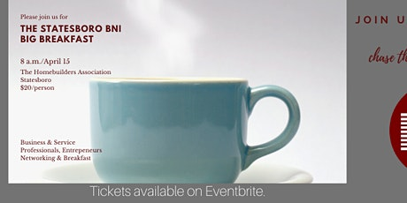 Statesboro BNI Big Breakfast tickets