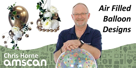 Air Filled Balloon Designs with Chris Horne - May tickets