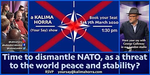 Time to dissolve NATO?