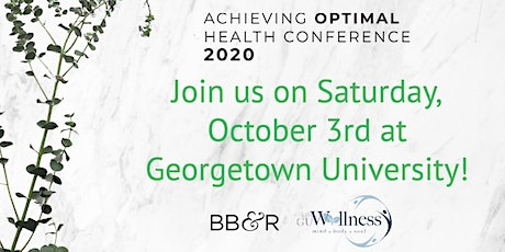 Achieving Optimal Health Conference 2020 tickets