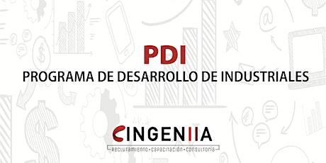 PROGRAMA DE DESARROLLO DE INDUSTRIALES boletos