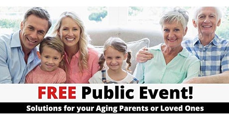 Solutions for your Aging Parents or Loved Ones tickets