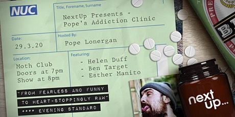 NextUp Presents: Pope's Addiction Clinic // Live Recording tickets