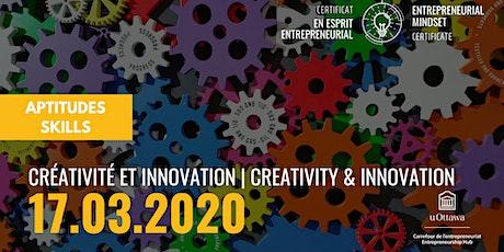 EMC: Creativity & Innovation  | CEE: Créativité et innovation billets
