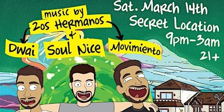 2os Hermanos & Soul Nice present: Suéltalo x Free Crib tickets