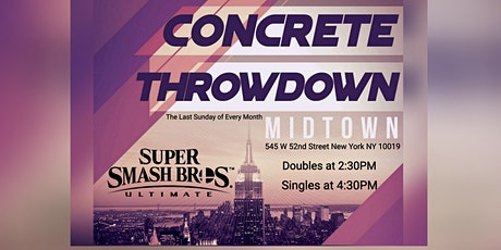 Concrete Throwdown - Super Smash Bros Ultimate Sin tickets