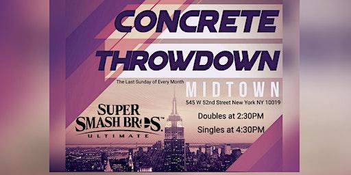 Concrete Throwdown - Super Smash Bros Ultimate Sin