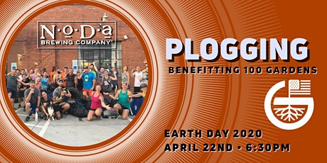 Earth Day Plogging Street Cleanup - Benefitting 100 Gardens tickets