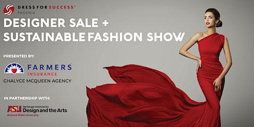 Shop for Success Designer Sale & Sustainable Fashion Show
