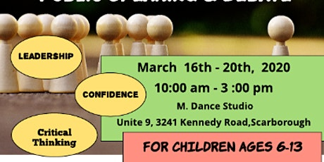 Scholar Radiance March Break Speech and Debate Camp tickets