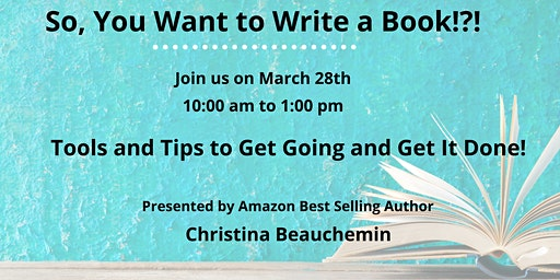 So, You Want to Write a Book!?!