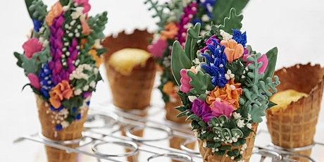 Mother's Day at Saute: Delightful Spring Sugar Cone Cupcakes $85 tickets
