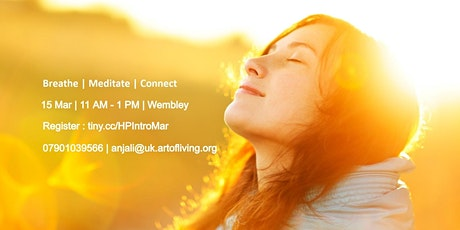 Breath, Mind and Meditation - An Introduction to Happiness program tickets