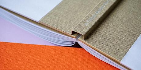 Intermediate Bookbinding: Sewn Boards Binding tickets