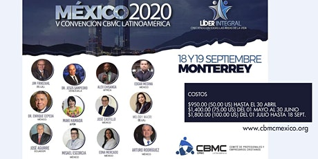 Convención Latinoamericana del CBMC en Monterrey entradas