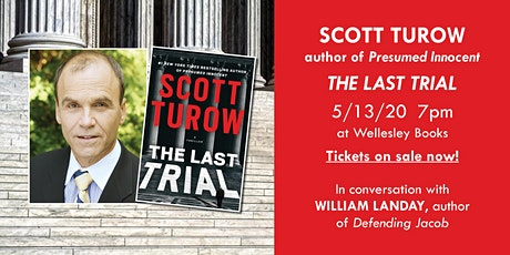 "*POSTPONED* Scott Turow presents ""The Last Trial"" tickets"