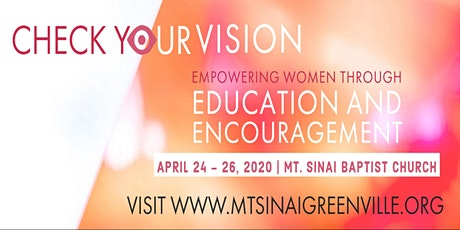 Do You Have 2020 Vision? | 2020 Women's Conference tickets