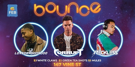 Bounce Thursdays at Dahlia Nightclub tickets