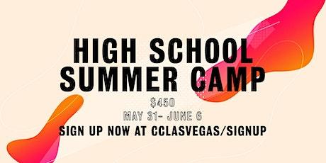 High School Summer Camp tickets