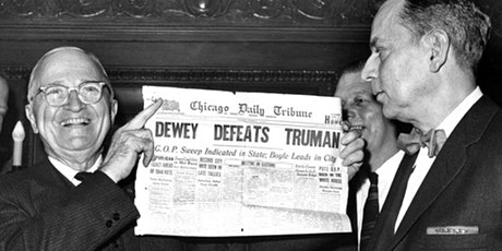 Dewey Defeats Truman tickets