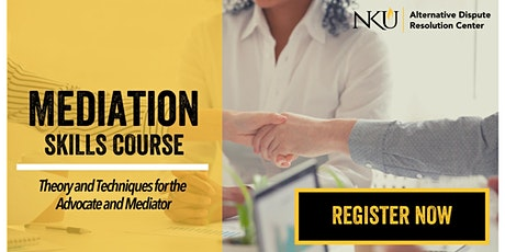 Mediation Skills Course: Theory & Techniques for the Advocate and Mediator tickets