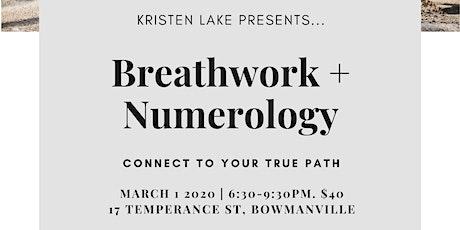 Breathwork + Numerology tickets