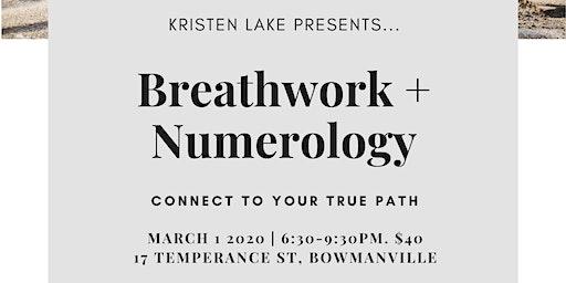Breathwork + Numerology