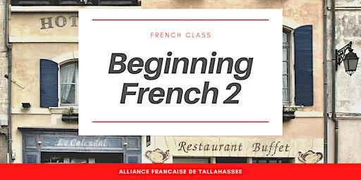 French Class : Beginner 2