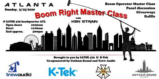 Boom Right Masterclass in Atlanta
