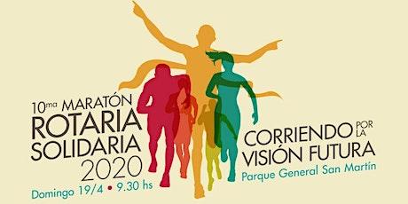 10ma. Maratón Rotaria 2020 entradas