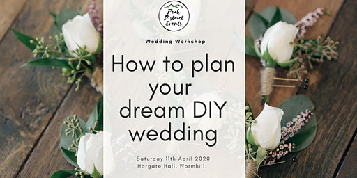 How to plan your DIY wedding