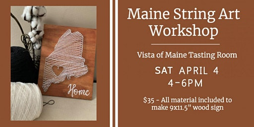 State of Maine String Art