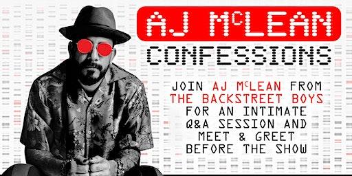 AJ McLean Confessions