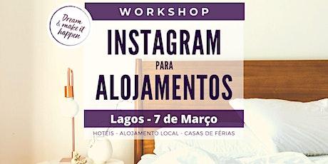 Workshop - Instagram para Alojamentos  bilhetes