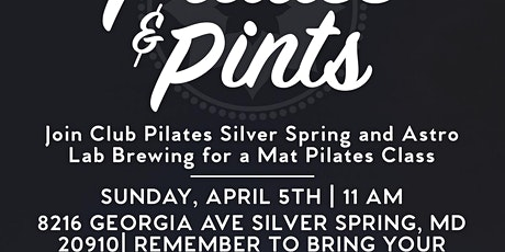 Pints & Pilates with Astro Lab Brewing tickets