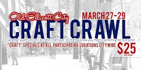 Craft Crawl tickets