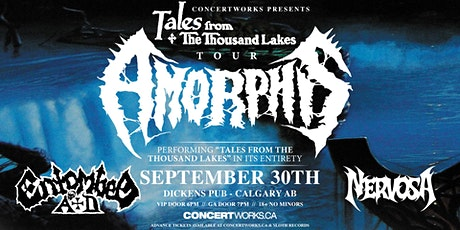 Amorphis w/ Entombed A.D. & Nervosa tickets