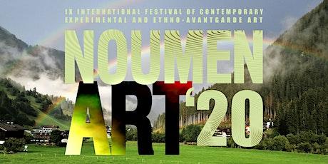 IX Интерфест экспериментального и этноавангардного искусства NOUMEN ART biglietti